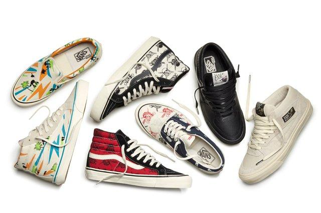 Vault By Vans X Star Wars Footwear Collection