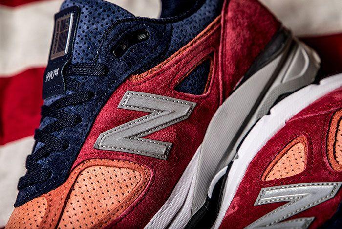 New Balance 990 V4 Copper Rose Pigment 3 Sneaker Freaker