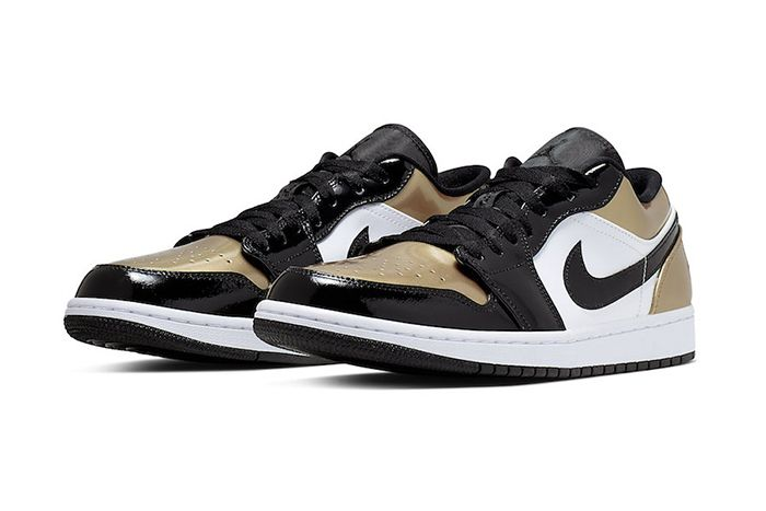 Air Jordan 1 Low Gold Toe Cq9447 700 Release Date Pair