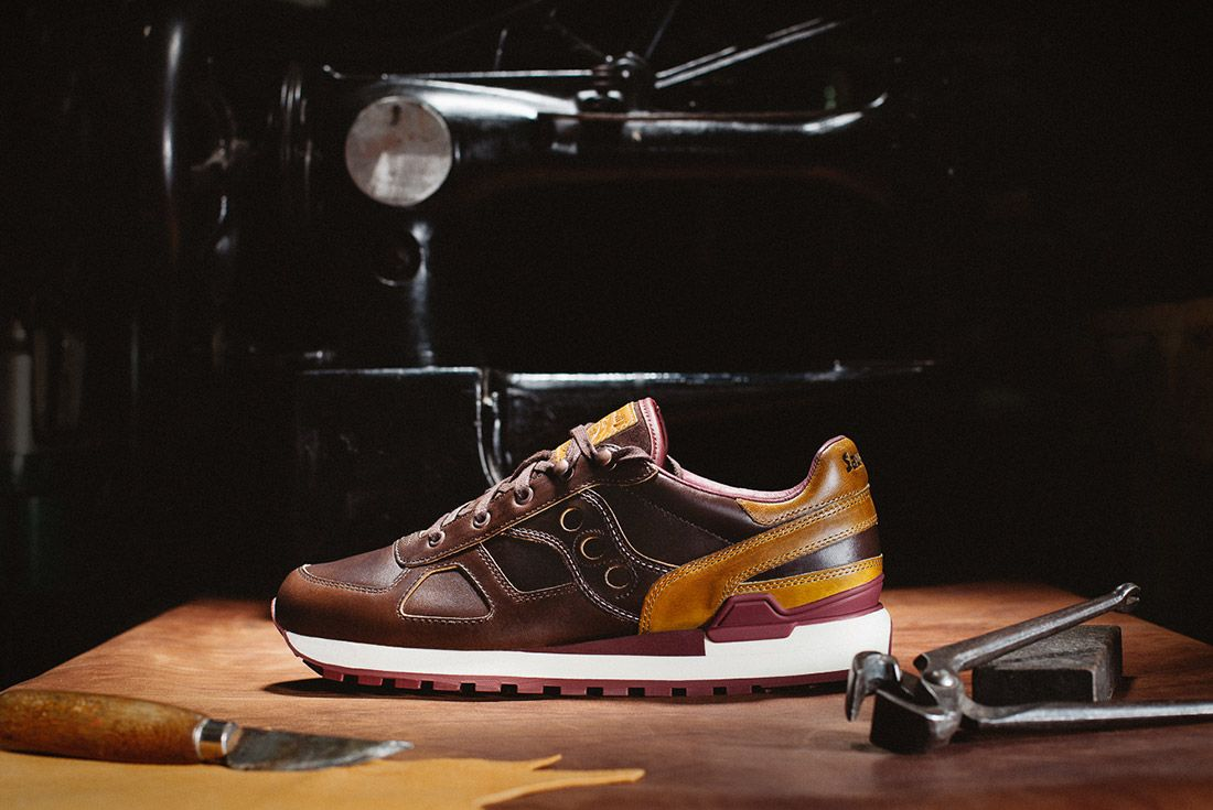 Saucony Wolverine Shadow Brown Leather 1000 Mile Boot 1