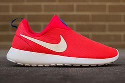 Nike Roshe Run Slip On Laser Crimson Thumb