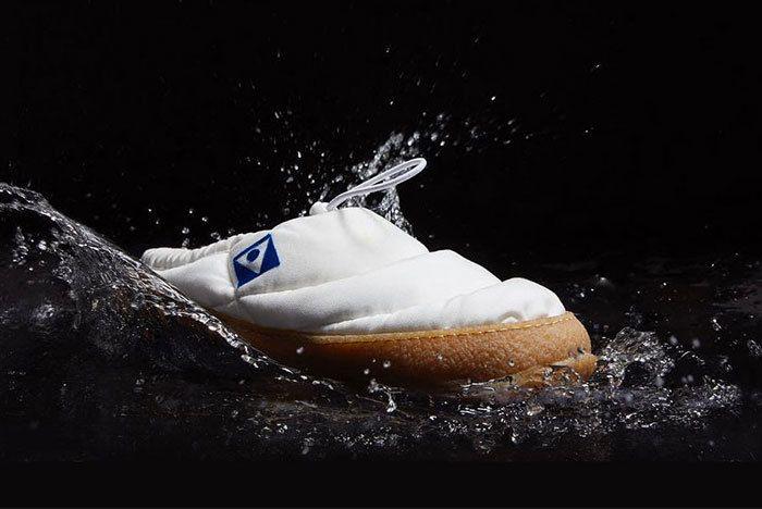 Maison Margiela Low Puffa Shoe Slipper Black Blue White 02 Sneaker Freaker