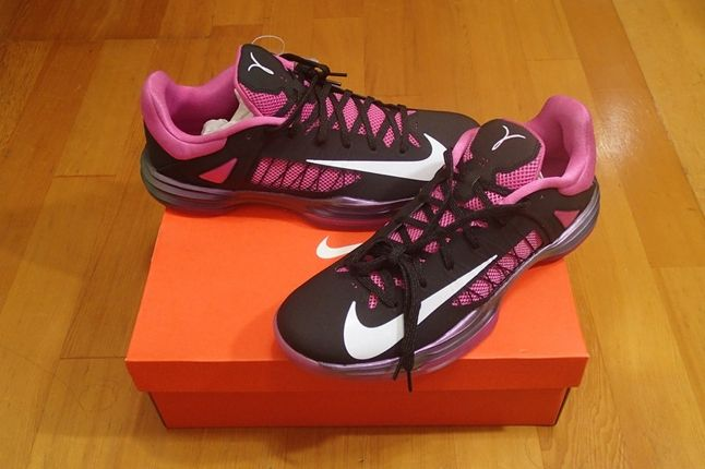 Nike Pink Hyperdunk Low Kay Yow With Box 1