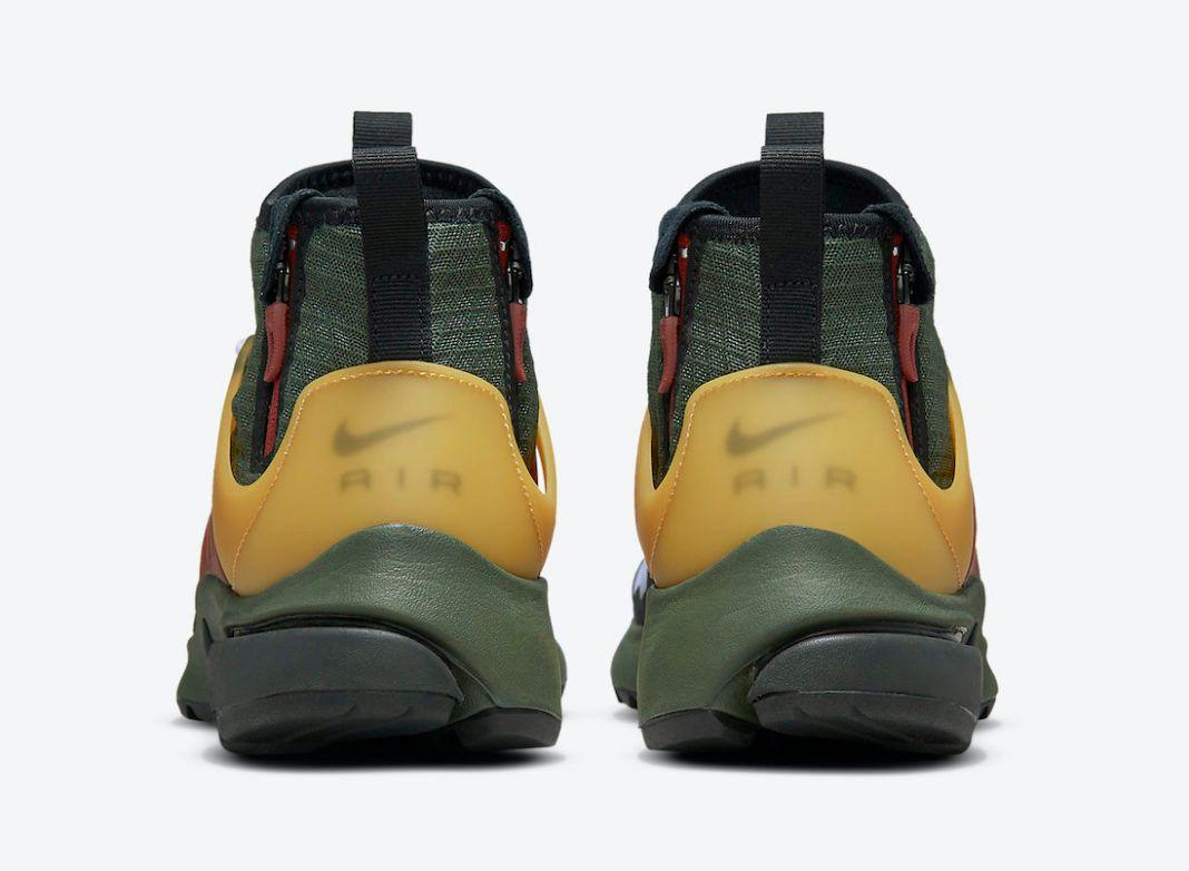 Nike Air Presto Mid Utility 'Boba Fett' official