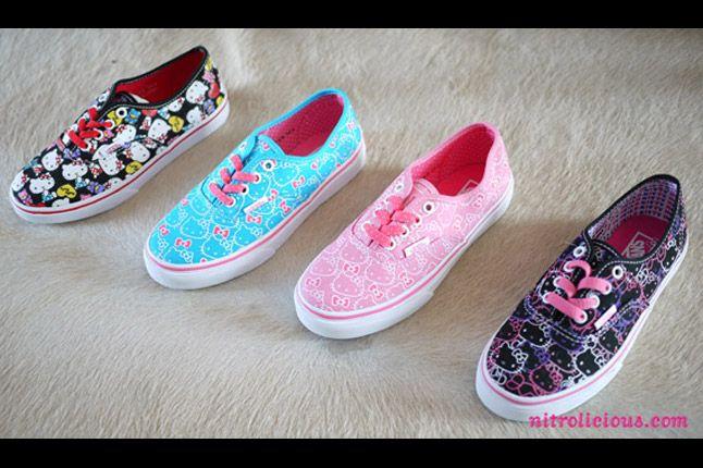 Hello Kitty Vans Summer 2012 03 1