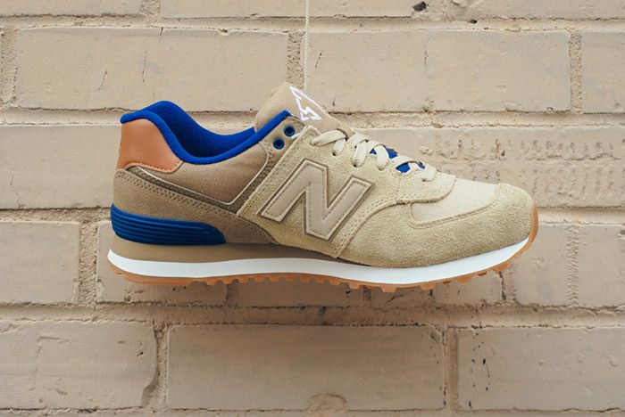New Balance 574 Ml574 Ned Tan Blue 5