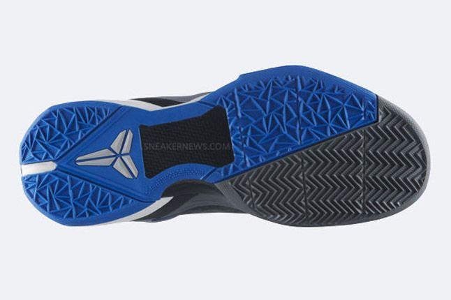 Nike Zoom Kobe Vii Grey Cheetah Sole 1