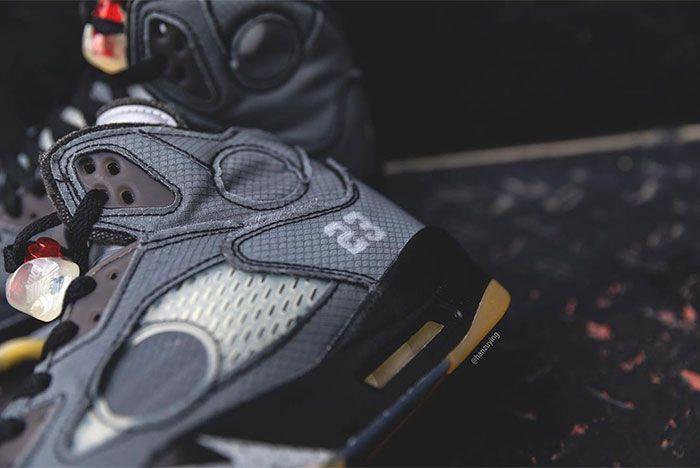 Off White Air Jordan 3 Close Heel