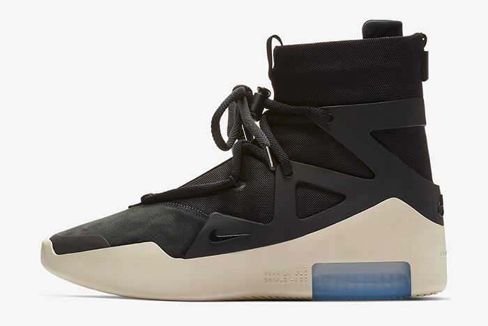 Nike Air Fear Of God 1 Black Official 2