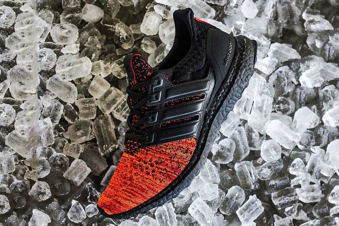 Game Of Thrones Ultra Boost Black Red Side