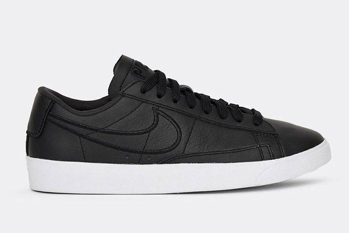 Nike Blazer Low Wmns Black Paris Fashion Week 4