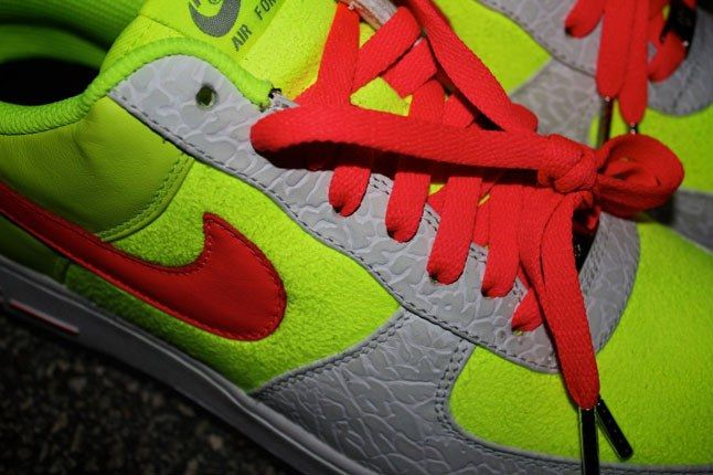 Air Force 1 Sneakerbox Clyde High Vis 5 1