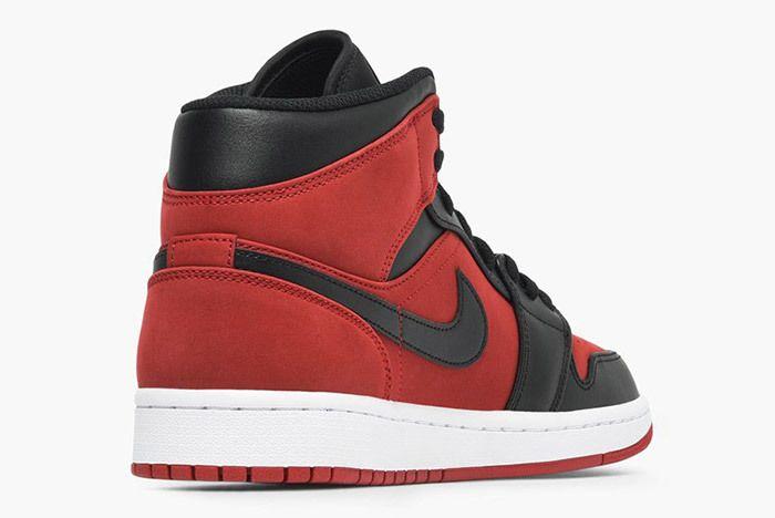 Jordan Air Jordan 1 Mid 554724 610 Gym Red Black White 2