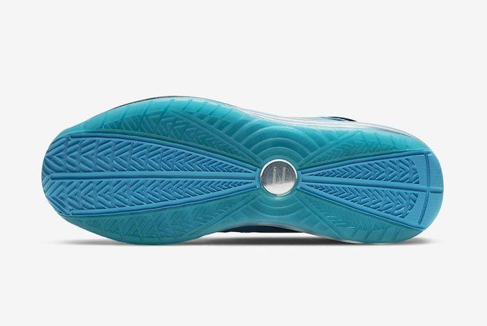 Nike Lebron 7 All Star Chlorine Blue Outsole