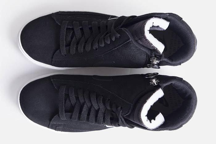 Nike Blazer Mid Rebel Womens Black Bq4022 001 3