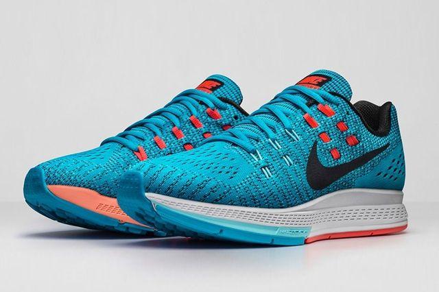 Nike Zoom Air Structure 19 Blue Lagoon Crimson 7