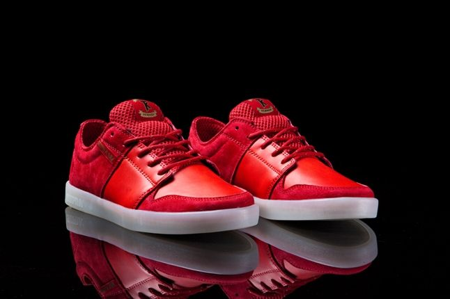 Supra Trill Star Pack Red West Angle 1