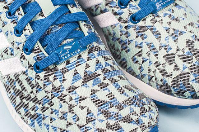 Adidas Zx Flux Weave Ocean Blue 6
