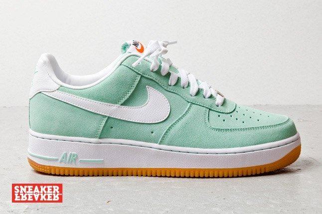 Nike Air Force 1 Low Suede Teal 3 1
