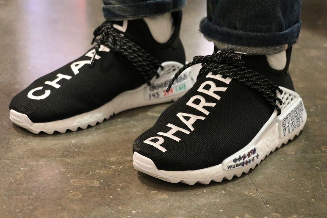 Chanel X Pharrell X Adidas Hu Nmd Sneaker Freaker 1