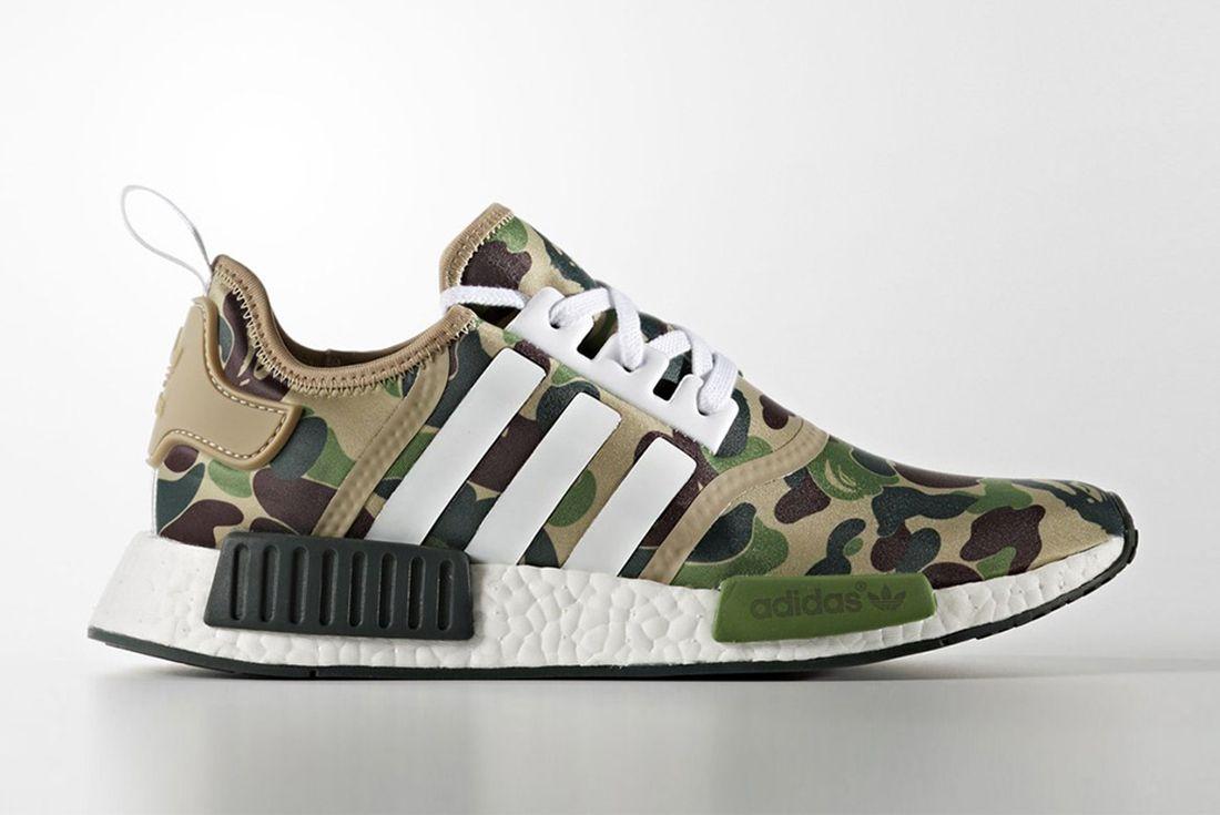 Bape X Adidas Nmd Collection
