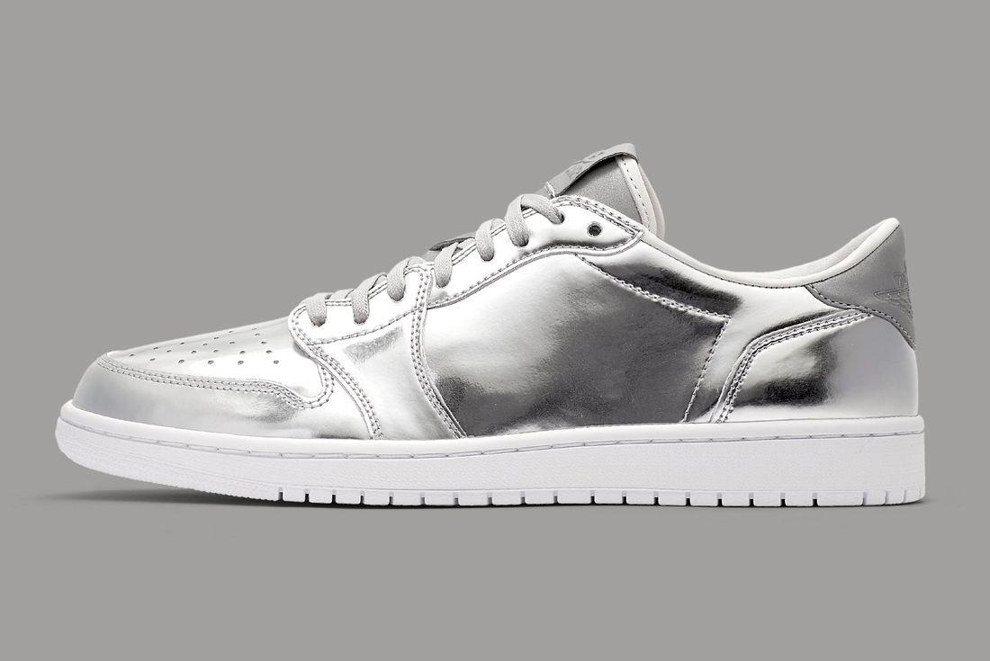 Air Jordan 1 Low Pinnacle Silver