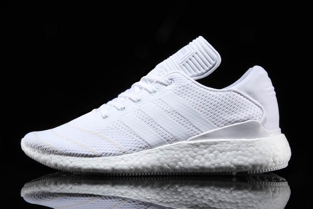 Adidas Busenitz Pure Boost Triple White 6