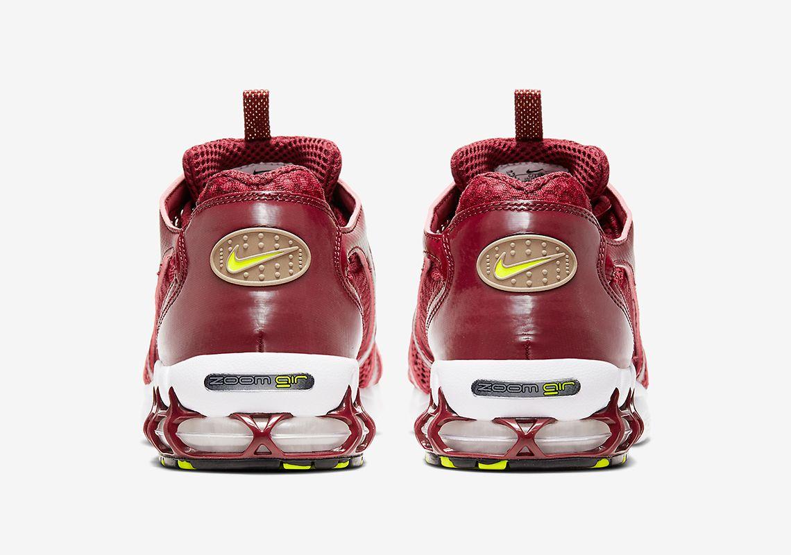 Nike Zoom Spiridon Cage 2 Team Red Heel