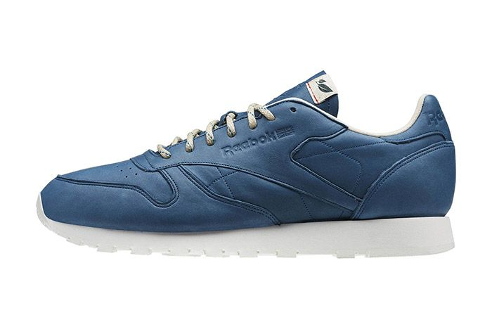 Reebok Classic Leather Eco Botanical Blue 4