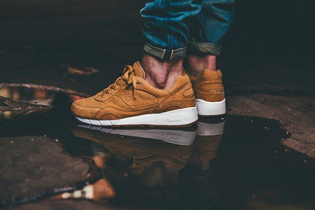 Saucony Irish Coffee Pack On Foot 3 640X4271