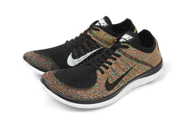 Free 4 0 Flyknit Multicolour Perspective