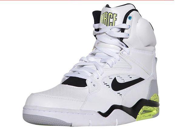 Nike Air Command Force White Grey Volt Black 2