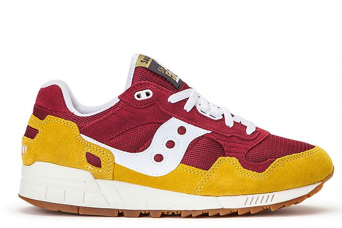 Saucony Shadow 5000 Red Yellow S70404 21 Lateral