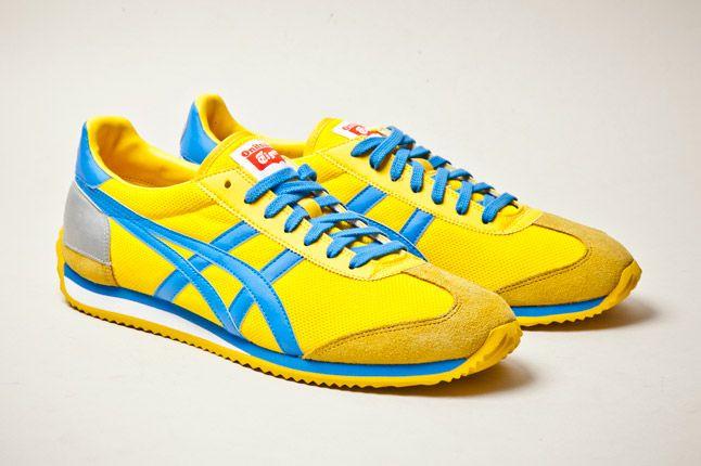 Onitsuka Tiger California 78 Yellow Blue 2 1