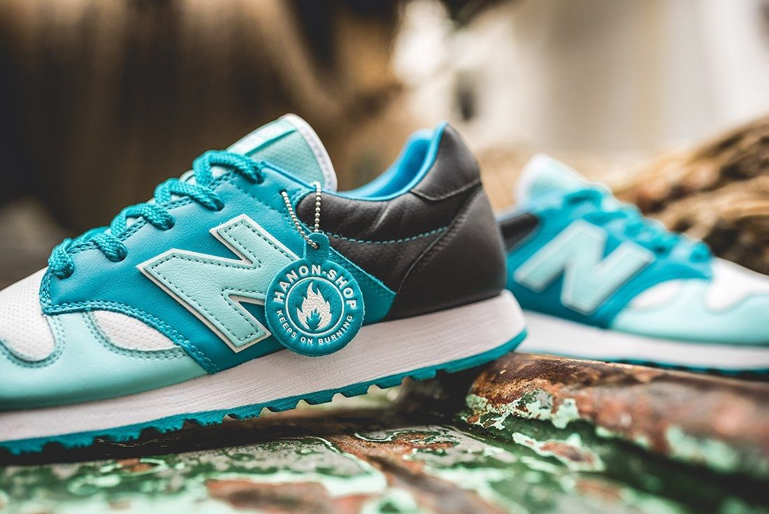 Hanon X New Balance U520 Hnf Fishermans Blues 2