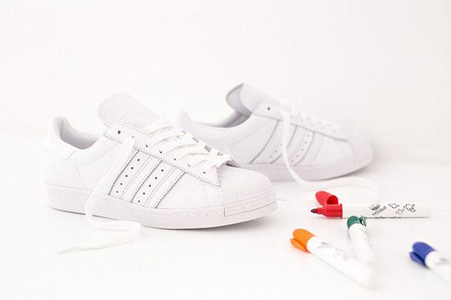 Adidas Superstar 80S Gonz White 2