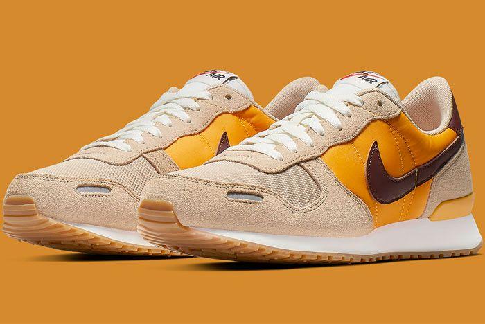Nike Air Vortex Brown Yellow Toe