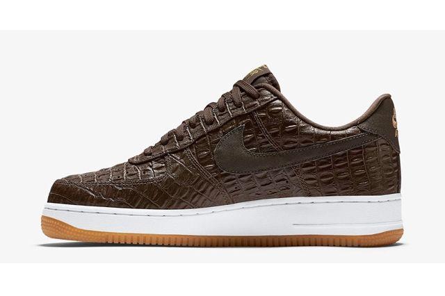 Nike Af1 Brown Croc Pack Ndc Bump 3