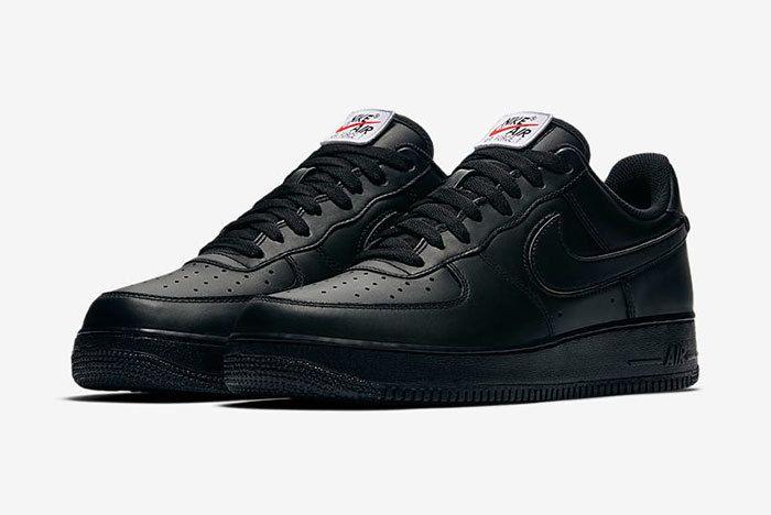Nike Af1 Swoosh Pack Black Sneaker Freaker 3