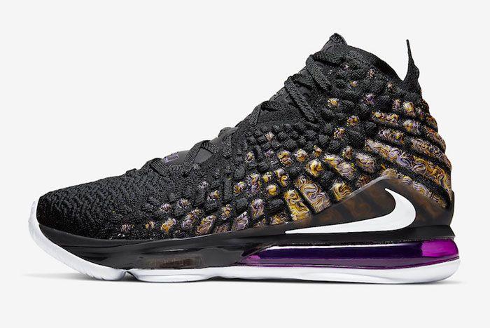 Nike Lebron 17 Lakers Left