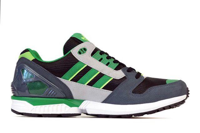 Adidas Originals Zx 8000 Fairway Dark Onix 2