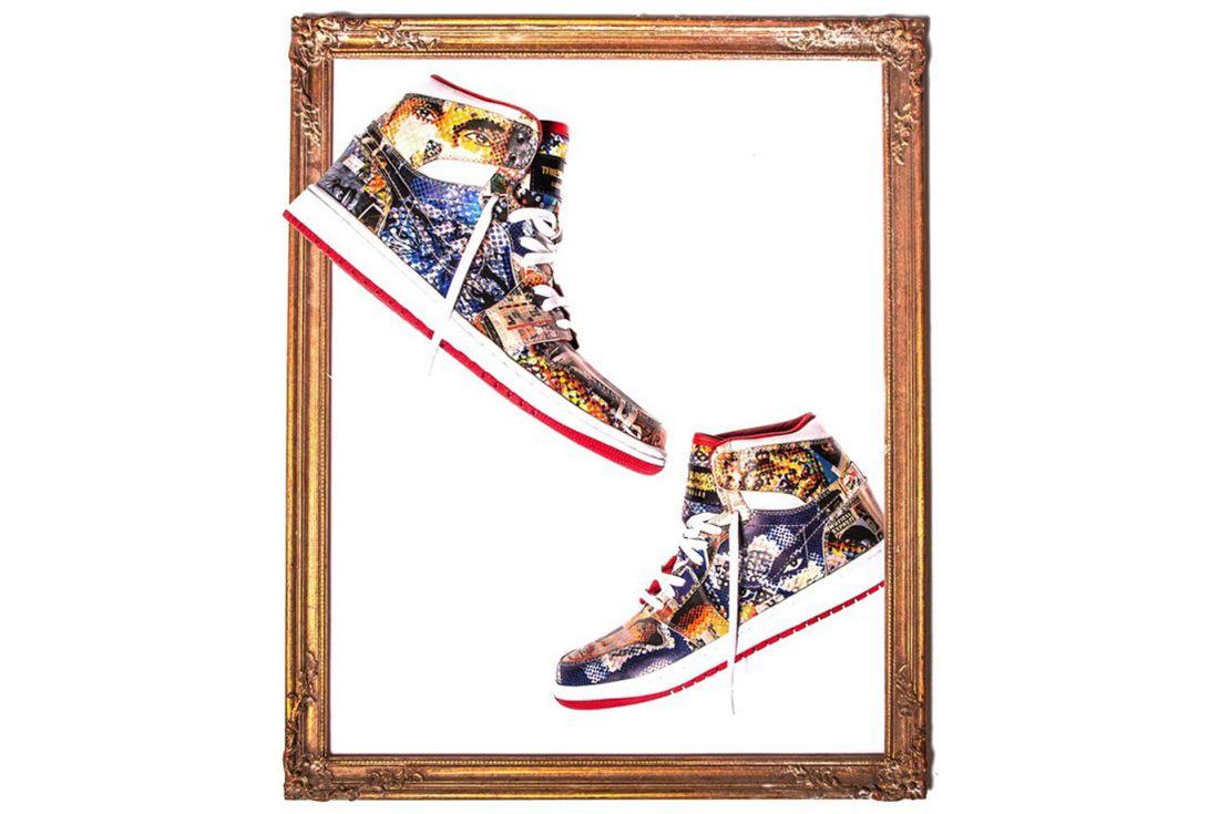 The Shoe Surgeons Latest Custom Turns Jordans Into Art5