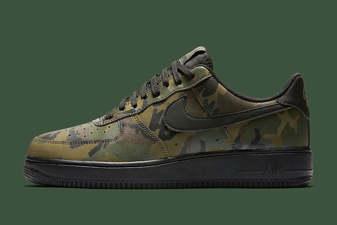Nike Air Foce 1 Camo Reflective 2