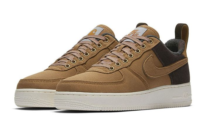 Carhartt Wip Nike Air Force 1 Low Duck Canvas 1