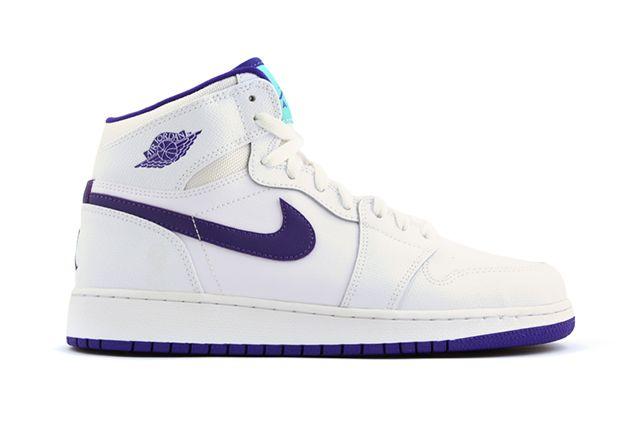 Air Jordan 1 High Gg White Purple