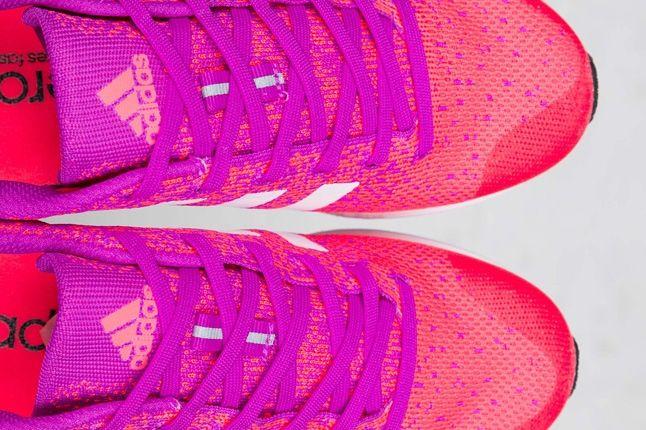 Adidas Originals Adizero Primeknit 2 0 Vivid Pink 2