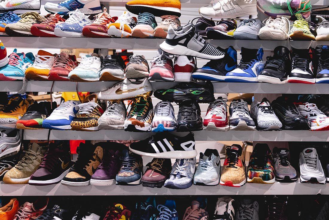 Sneakerness Paris Nike Display