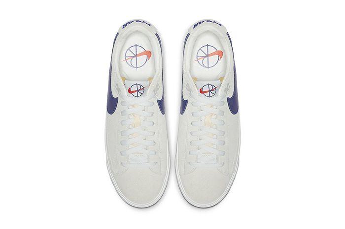 Polar Skate Co Nike Sb Blazer Low Official Av3028 100 Release Date Top Down