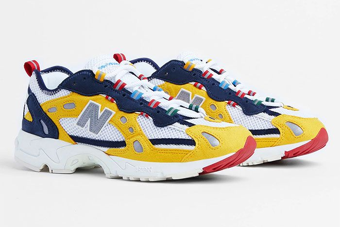 Aime Leon Dore New Balance 827 Yellow 2 Official