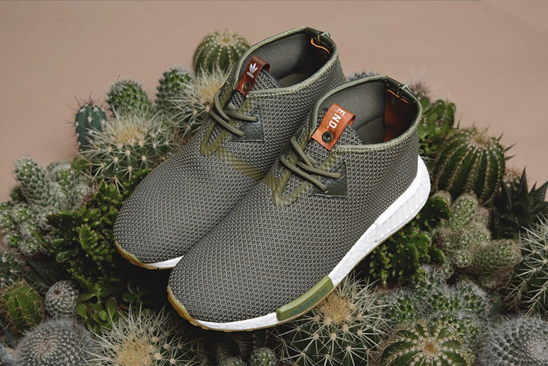Adidas End Sahara Nmd C1 Green 3